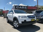2008 Holden Captiva CG MY08 SX (4x4) White 5 Speed Automatic Wagon Edgeworth Lake Macquarie Area Preview