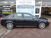 Audi S4 4.2 auto 2004 quattro F/S/H Low mileage P/X Now on Private plate S4DXU