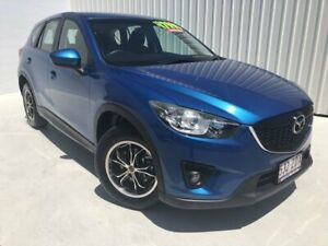 2012 Mazda CX-5 KE1071 Maxx SKYACTIV-Drive Blue 6 Speed Sports Automatic Wagon Mundingburra Townsville City Preview