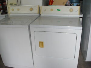 laveuse/sécheuse maytag  blanche
