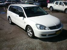 2008 Mitsubishi Lancer CH MY07 ES White 4 Speed Auto Sports Mode Wagon Newcastle Newcastle Area Preview