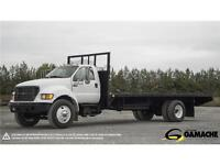 FORD F-750 2000 & PLATE-FORME 24'