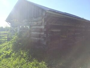 1800's log cabin for removal