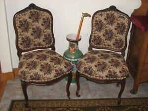 Antique Pair of Victorian Chairs