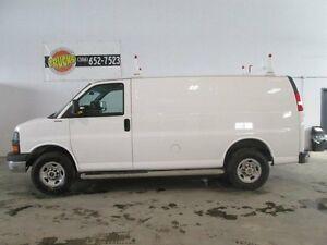 2015 GMC Savana 2500 1WT Rear-wheel Drive Cargo Van