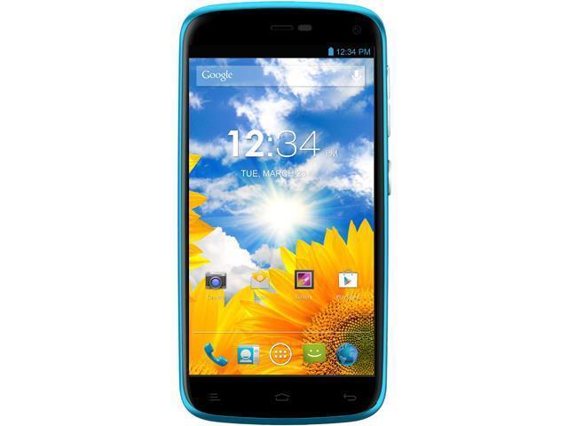 Blu Life Play L100A Blue 3G Quad Core 1 2GHz Dual Sim Unlocked Cell Phone