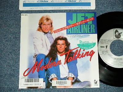 "MODERN TALKING Japan 1987 NM 7""45 JET AIRLINER"