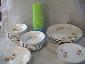 *Dish Set with Glasses, Dishes, Dining Set, Dinner Set #2