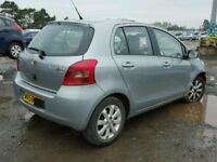 TOYOTA YARIS 2008 REG 1296 CC PETROL 5 DOOR HATCH (BREAKING ALL PARTS AVAILABLE)
