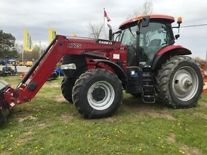 2014 Case IH Puma 170 with Loader