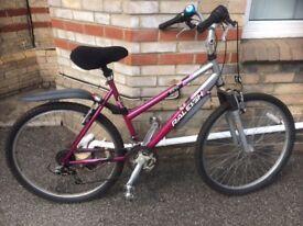 RALEIGH MINX Ladies Bicycle, Shimano gears