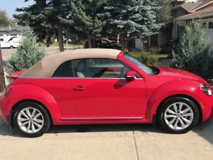 2013 VW Beetle Convertible Highline (Private sale)