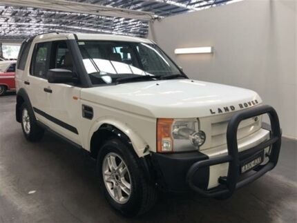 2006 Land Rover Discovery 3 S White 6 Speed Automatic Wagon Beresfield Newcastle Area Preview