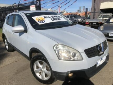 2008 Nissan Dualis J10 TI (4x4) Silver Grey 6 Speed CVT Auto Sequential Wagon Brooklyn Brimbank Area Preview