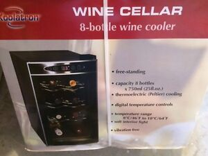 Koolatron Wine Cellar - 8 Bottle Wine Cooler