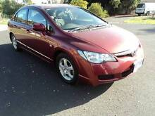 2006 Honda Civic Sedan,AUTO,REG,RWC, LOW KMS, Roxburgh Park Hume Area Preview