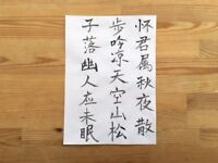 Chinese Writing Arts (Photo as illustration, can be tailored to your demand)