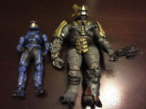 2 HALO ACTION FIGURES