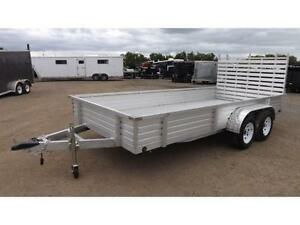 LANDSCAPE UTILITY TRAILER - ALUMINUM - STD DUTY or HEAVY DUTY