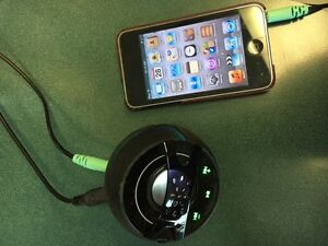 iPod Touch and Mighty Dwarf Speaker Combo