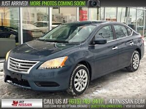 2015 Nissan Sentra S | Bluetooth, Cruise, A/C