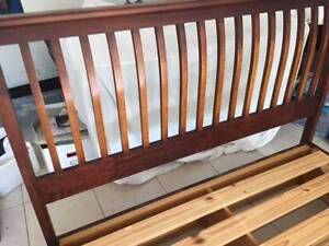 Queen size timber bed frame Yeerongpilly Brisbane South West Preview
