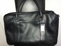 Fred Perry Black Holdall with Tags - cost £90 - includes free leather Fred Perry Bag : £35 ono
