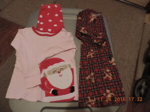 Size 3T Winter/Holiday PJ's & Sleepers/Onesies London Ontario image 4
