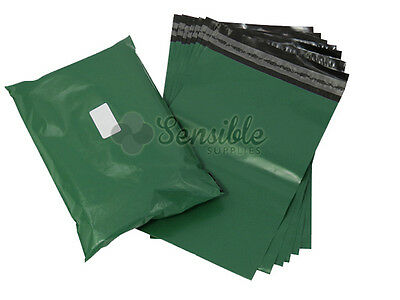 50x GREEN Mailing Postal Postage Mail Bags 16