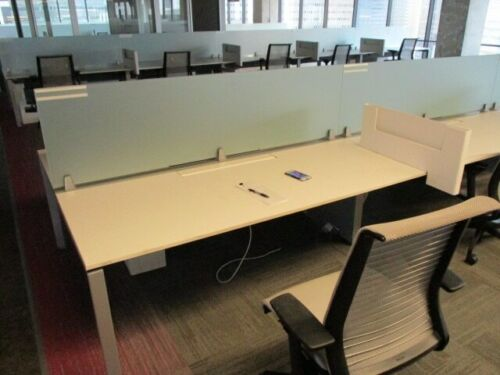 Used Office Cubicles, Steelcase Frame One 6x2.5 Cubicles