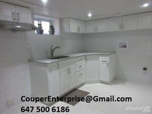 1 Bed Room Apartment Newly Renovated and Clean Hamilton Mountain