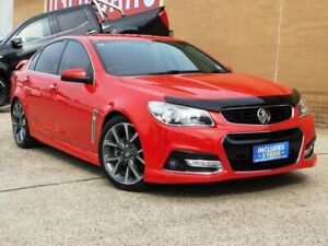 2013 Holden Commodore VF SS-V Red 6 Speed Automatic Sedan Belconnen Belconnen Area Preview