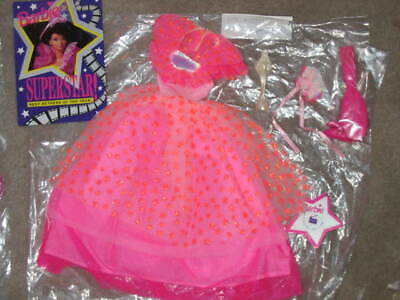 Superstar Barbie 1993 #10592 (Walmart), outfit ONLY, mint complete - Superstar Outfit