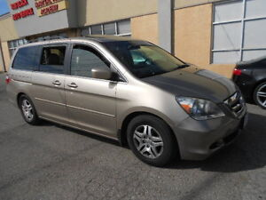 2007 Honda Odyssey EXL; Leather,Sunroof; CERTIFIED & ETESTED