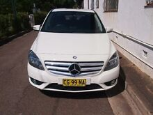 2012 Mercedes-Benz B200 W246 BlueEFFICIENCY Calcite White 7 Sports Automatic Dual Clutch Hatchback Petersham Marrickville Area Preview