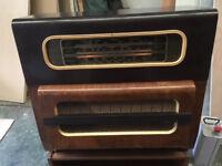 Vintage valve 'Regentone' combination Tri-Band Radio,Garard Record Player.Prop