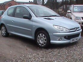 PEUGEOT 206 1.4 LOOK 3 DR I YEARS MOT CLICK ON VIDEO LINK FOR MORE INFORMATION ABOUT THIS CAR