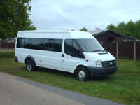 Ford TRANSIT 17 seat mini bus direct from mod low miles