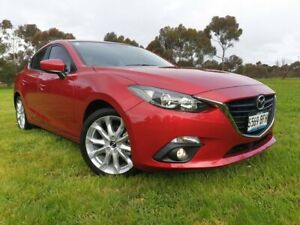 2015 Mazda 3 BM5238 SP25 SKYACTIV-Drive Soul Red 6 Speed Sports Automatic Sedan Medindie Walkerville Area Preview