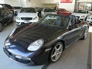 2007 Porsche Boxster 987 MY07 Grey 5 Speed Manual Convertible Albion Brisbane North East Preview