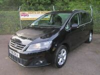 Seat Alhambra 2.0 SE TDi 150 CR Ecomotive Turbo Diesel 7 SEATER 7 Seater (black magic) 2016