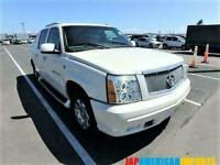 FRESH IMPORT CADILLAC ESCALADE EXT V8 CREW CAB PICKUP AUTOMATIC PEARL WHITE
