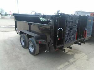 EASIEST COMBO GATE TO OPERATE 6X12 DUMP TRAILER 5 TON London Ontario image 4