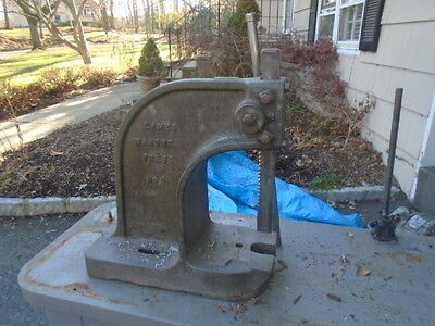 Machinist Tools Lathe Mill Machinist Eames Mandrel Arbor Press No 0