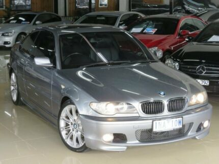 2004 BMW 320CI E46 Silver Storm 5 Speed Auto Steptronic Coupe Seaford Frankston Area Preview