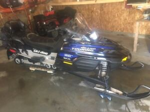 snowmobile two up