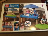 Step2 Cascading Cove Sand & Water Table - BRAND NEW IN ORIGINAL BOX