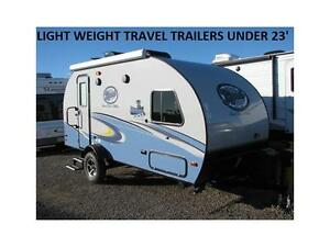 R POD LIGHT WEIGHT TRAVEL TRAILER'S ALL UNDER 23'