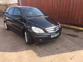 B Class Mercedes (07) 12 Month MOT, Recently Serviced, 2 New Front Tyres