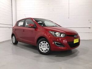 2014 Hyundai i20 PB MY14 Active Red 6 Speed Manual Hatchback Windsor Hawkesbury Area Preview